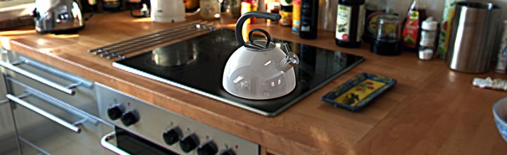 Tea Kettle Product Design and Rendering
