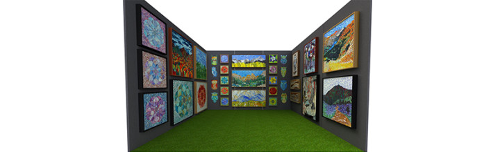 Artist Booth Rendering using Solidworks and KeyShot 5 for a vendor application at an Art Fair for the Cherry Creek art fest 2016 in Denver, Colorado